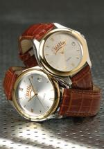 Leather Band Gold Watch, Watches